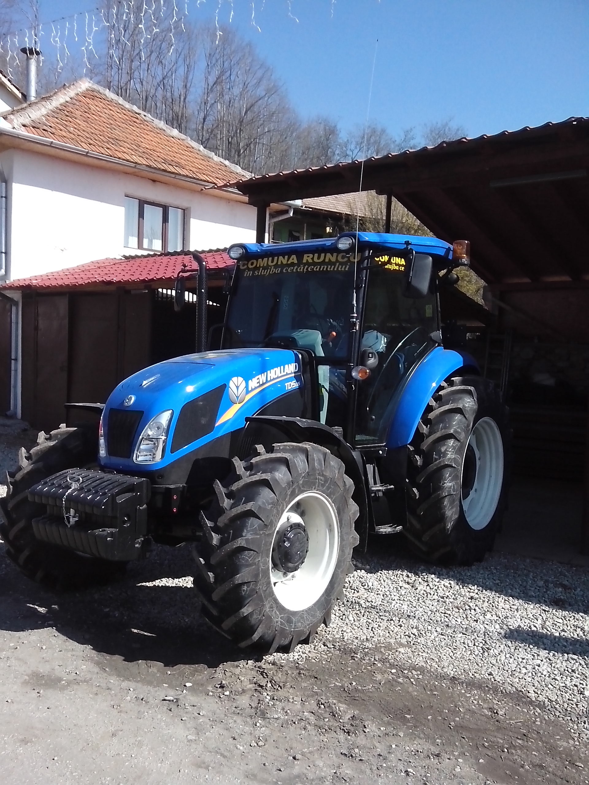 Noul tractor 2014